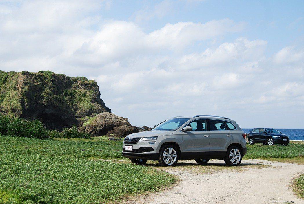 對 SUV 買家來說,車輛的安全性與空間機能可說是重要項目。Škoda Karoq 除了有完善的被動安全外,在主動配備上也相當大方。 記者林鼎智/攝影