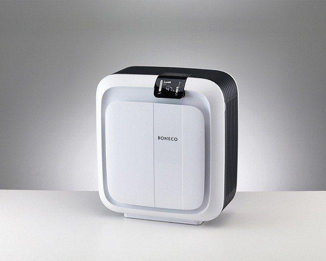 BONECO 智慧進化保濕空氣清淨機,智慧偵測為您守護全家人的肺。圖由廠商提供。