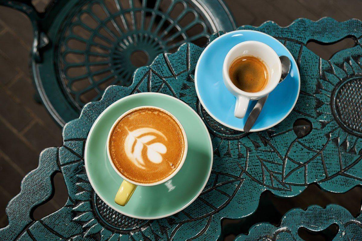 SimpleKaffa咖啡順口香純,在視覺與層次上也令人驚艷。