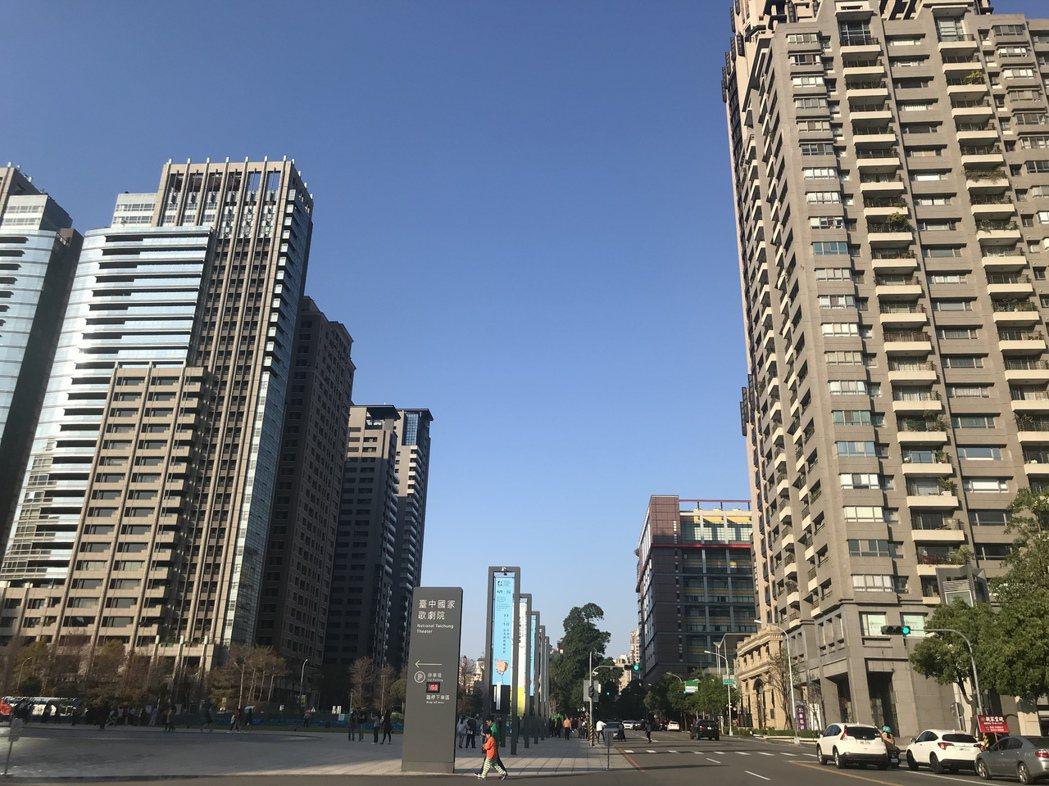 房仲業者分析台中移居潮轉弱與房價「漲勢猛烈」有關。 報系資料照/記者游智文攝影