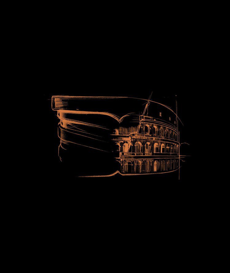 B.zero1將羅馬城的不朽精神融入珠寶,設計靈感源自羅馬最偉大的象徵:「圓形競...