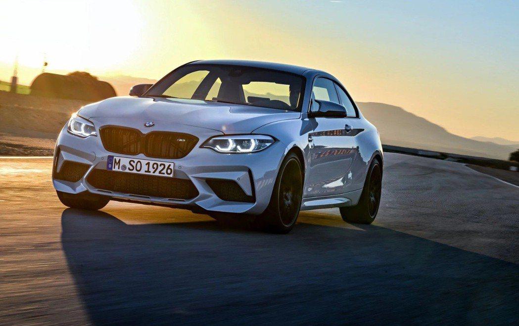 全新BMW M2 Competition將在北京車展上正式發表。 摘自BMW
