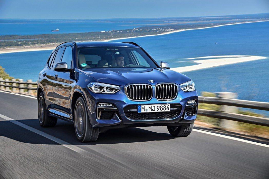 電動版iX3預計將在2020年正式亮相,圖為新世代BMW X3。 摘自BMW