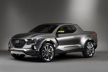 Hyundai Santa Cruz貨卡 最快2020年發表