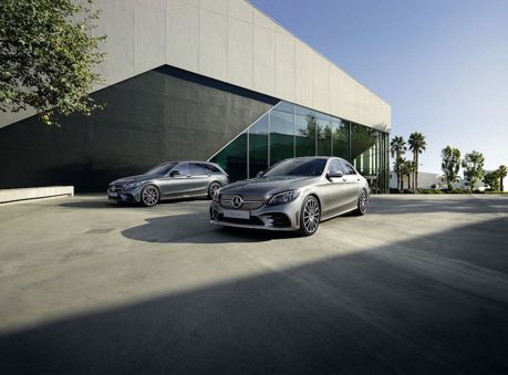 小改Mercedes-Benz C-Class 歐陸市場開賣