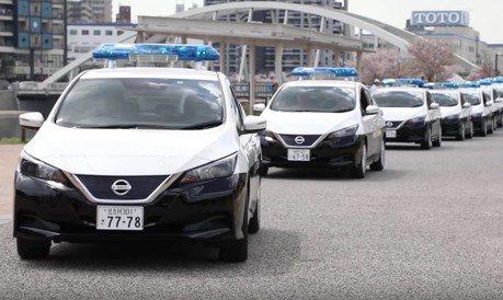Nissan Leaf成為日本新警車 安靜中打擊犯罪