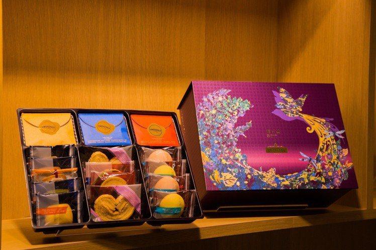 郭元益與唐寧茶聯名推出禮盒新品。圖/唐寧茶提供