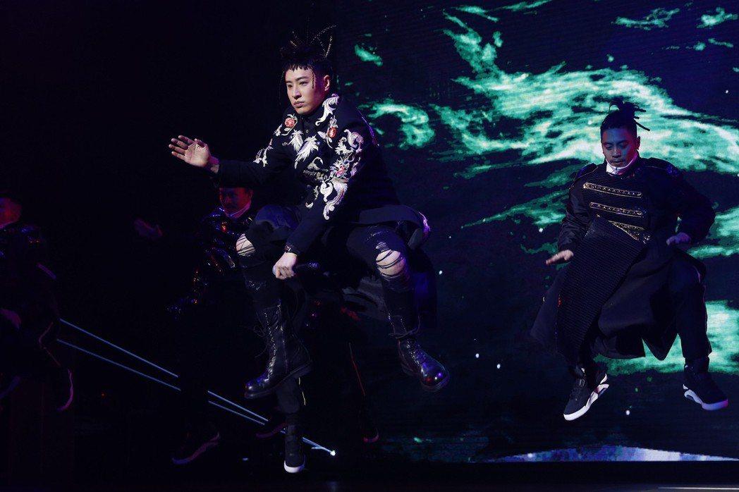 潘瑋柏「Alpha 創使者世界巡迴演唱會」21日在北京舉辦首場。圖/華納提供