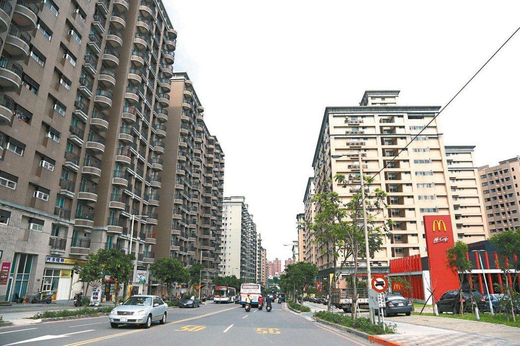 淡海及林口兩大新市鎮因房價相對低,吸引大量首購人口進駐。 (本報系資料庫)