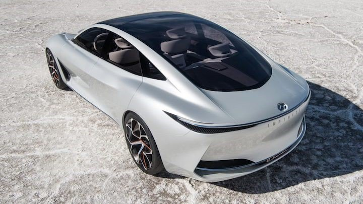 Q Inspiration概念車。 摘自Infiniti