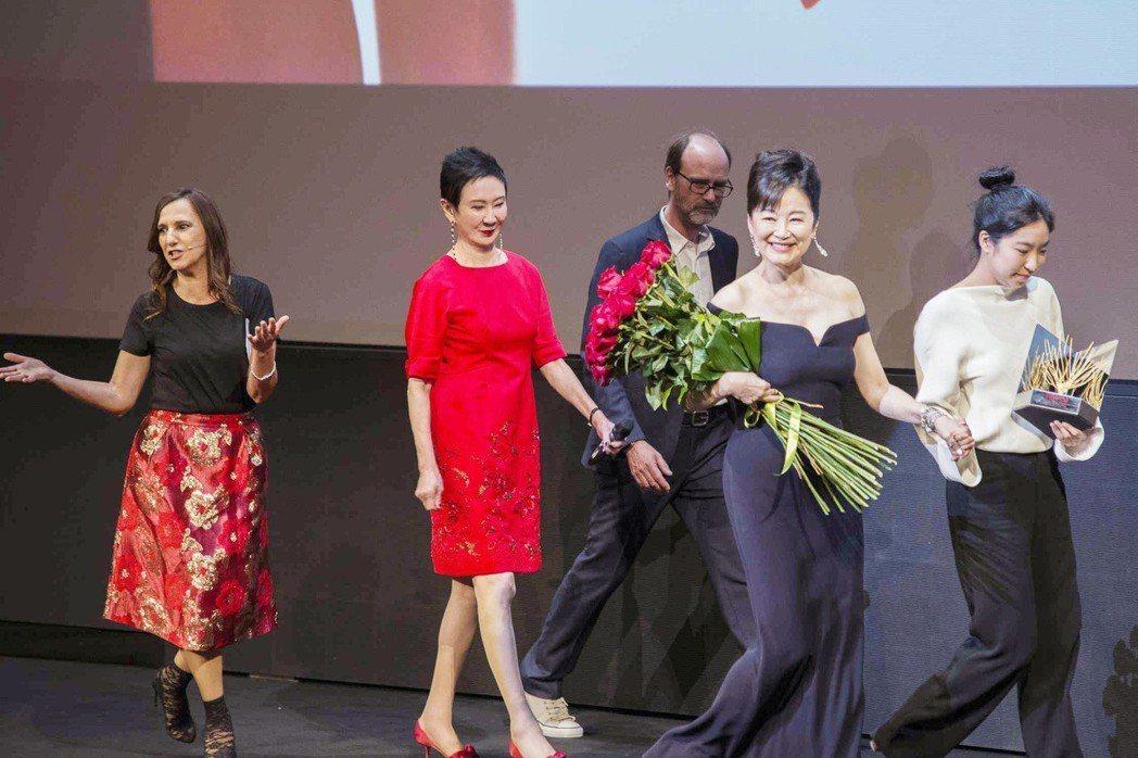 林青霞是本屆義大利烏甸尼遠東電影節的焦點巨星。圖/双喜提供