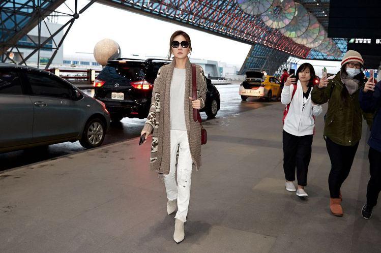 Ella陳嘉樺近來成為時尚活動常客。圖/Ralph Lauren提供