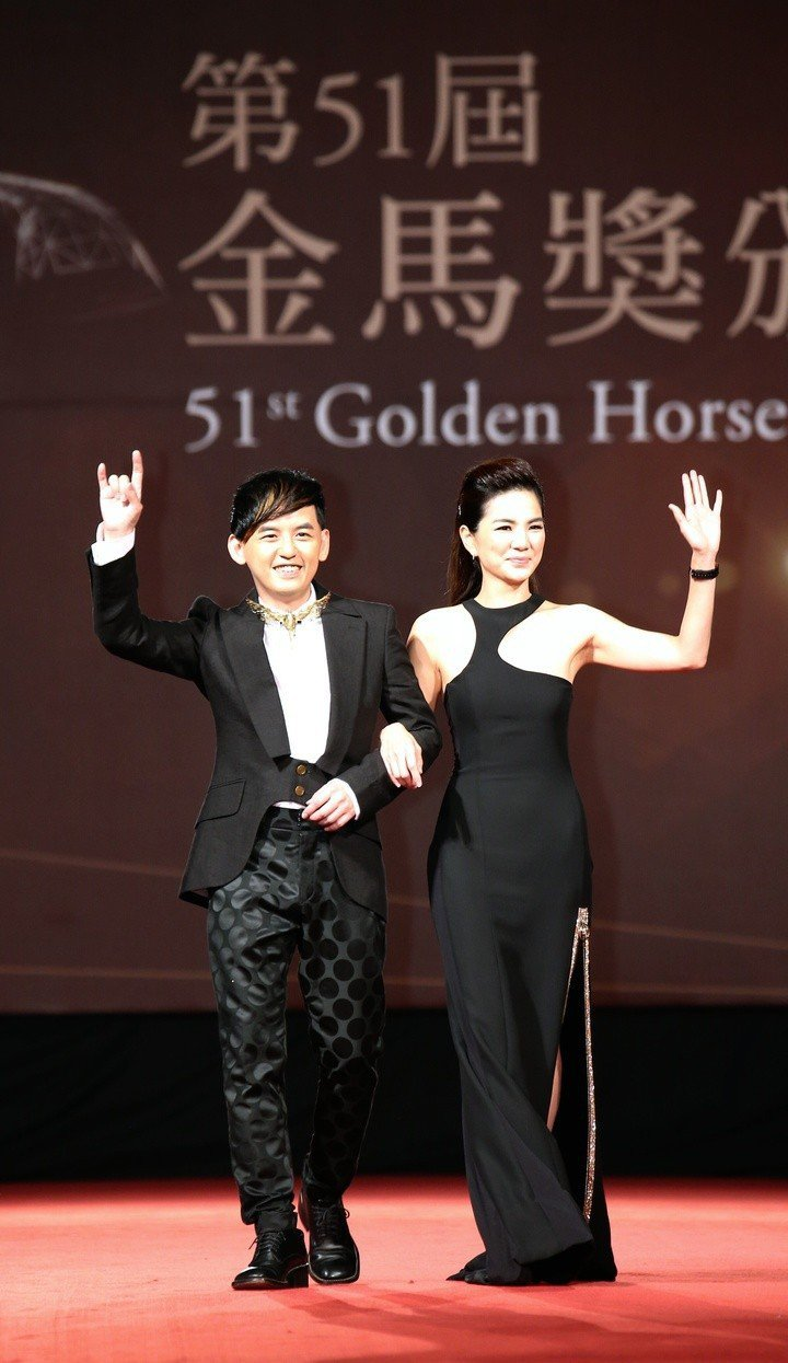 Ella陳嘉樺曾擔任金馬獎主持人。圖/聯合報資料照