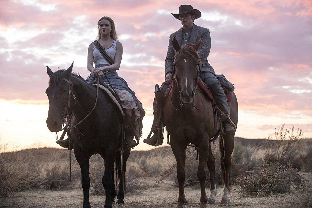 HBO大戲「西方極樂園」第2季今起在台首播。圖/HBO提供