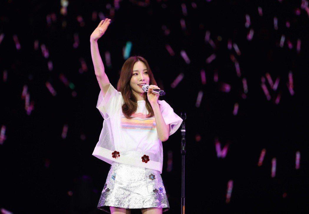 太妍稱讚台灣粉絲。圖╱亞士傳媒提供