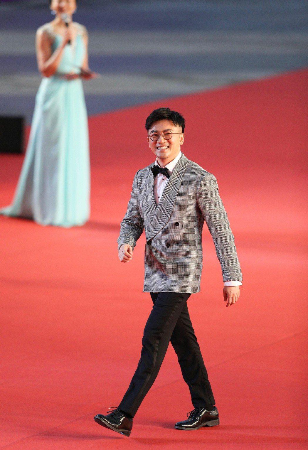 蘇有朋走上星光大道紅地毯。圖/摘自北京國際電影節微博