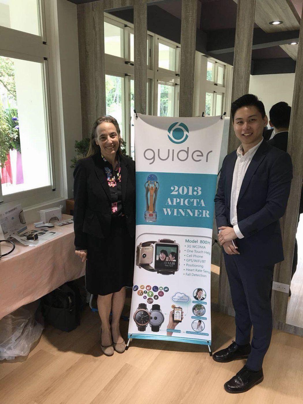 哈佛醫療中心團隊對蓋德科技遠距照護系統稱讚有加    蓋德科技/提供