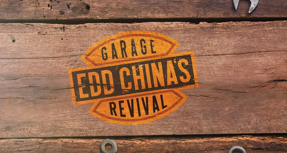 Edd China's Garage Revival 老車翻新節目。 截自Edd...