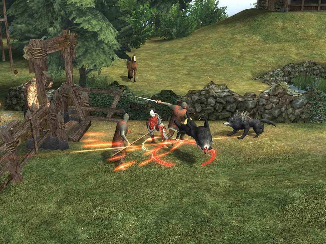 玩家能於村莊模式中感受到RPG遊戲的元素。