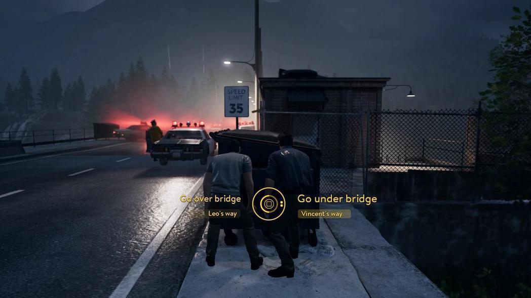兩個人必須選擇同一個選項,然後按下確認鍵,遊戲才會繼續進行。