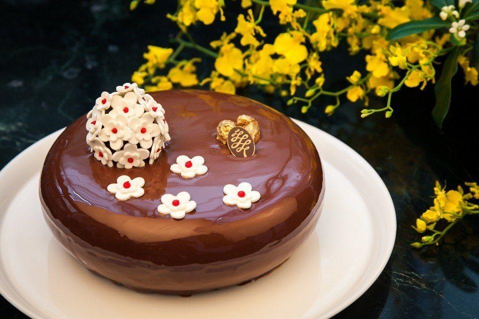 「寵溺可可」母親節蛋糕。(圖片提供/台北西華飯店)