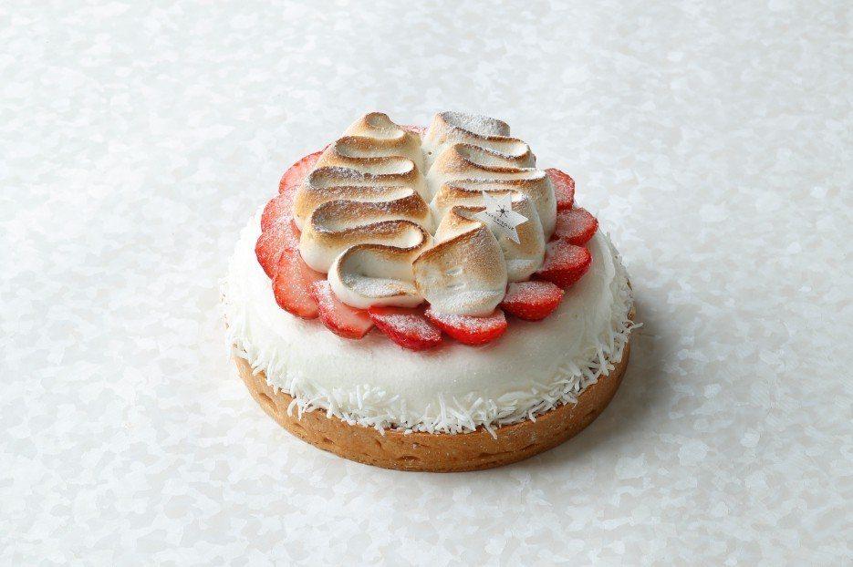 「莓果馨情」母親節蛋糕。(圖片提供/香格里拉台南遠東國際大飯店)