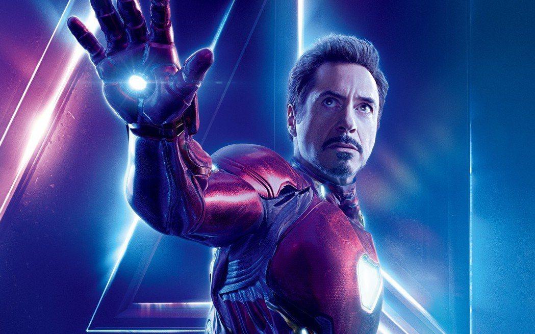 小勞勃道尼在「復仇者聯盟3:無限之戰」再度飾演鋼鐵人。圖/摘自推特
