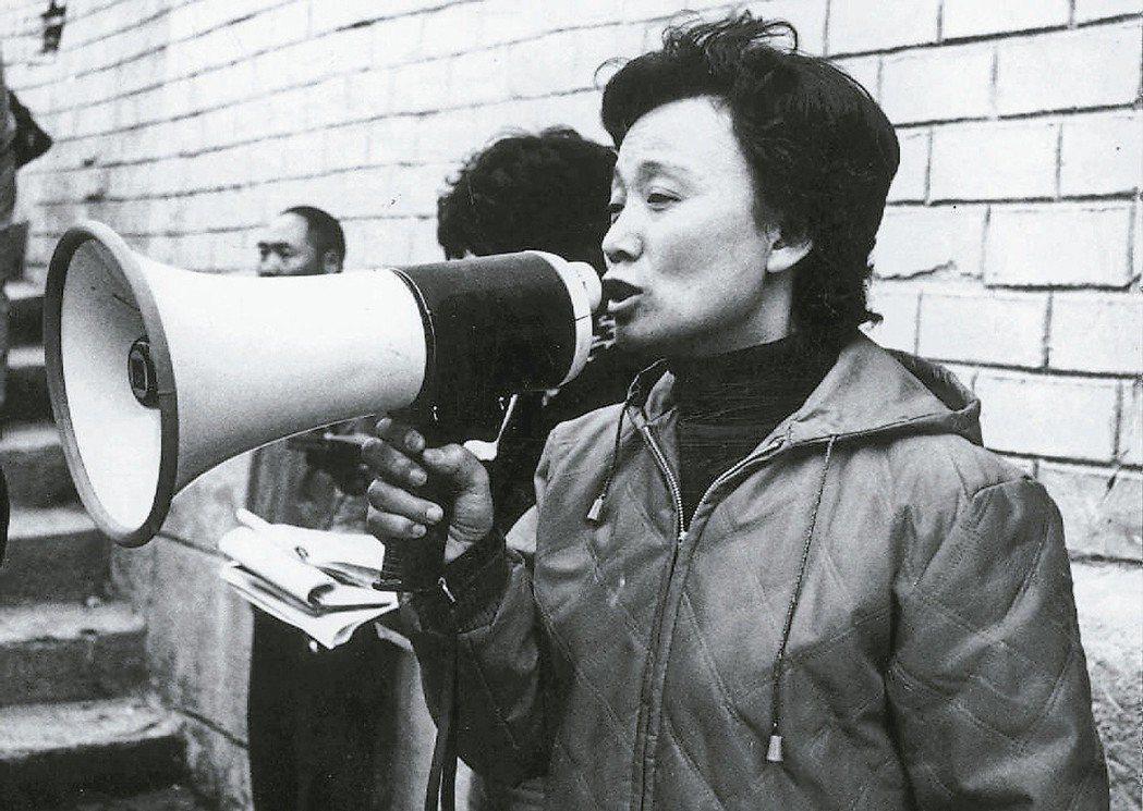 劉立立當年是台灣最搶眼的知名導演,也是拚命三娘,為拍戲可八天八夜不睡覺。圖/聯合