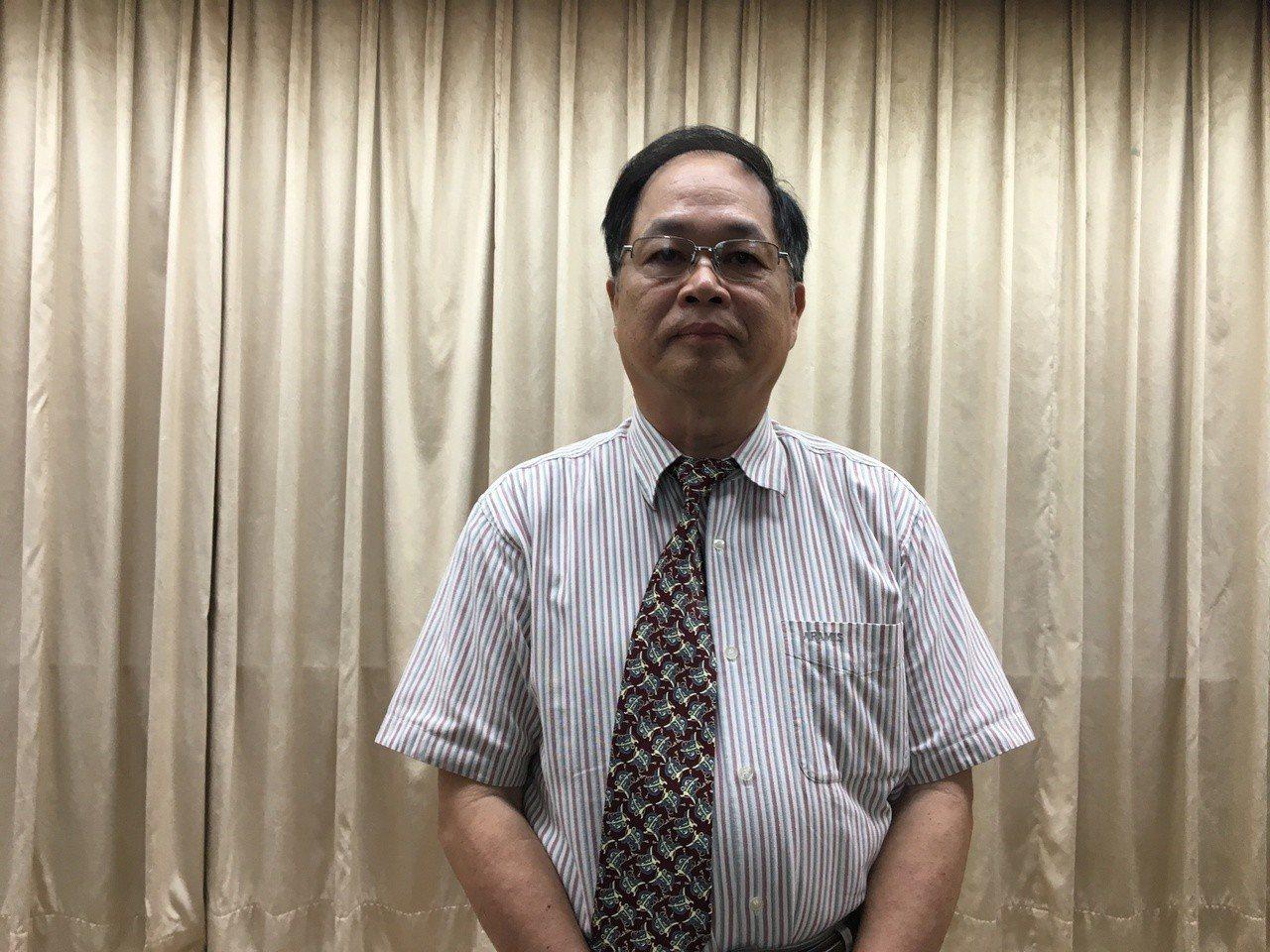 東華大學主任秘書古智雄強調若有違法會捍衛權益。記者徐庭揚/攝影