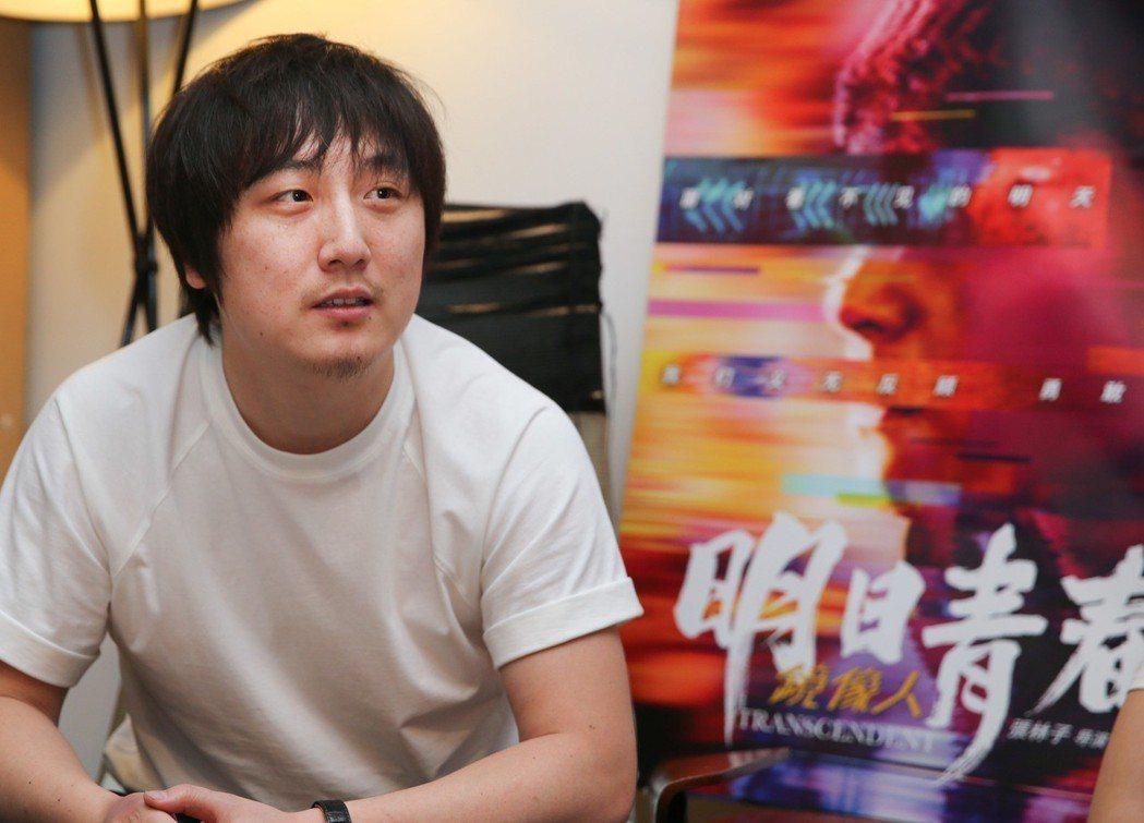 《鏡像人.明日青春》導演張林子。記者陳柏亨/攝影