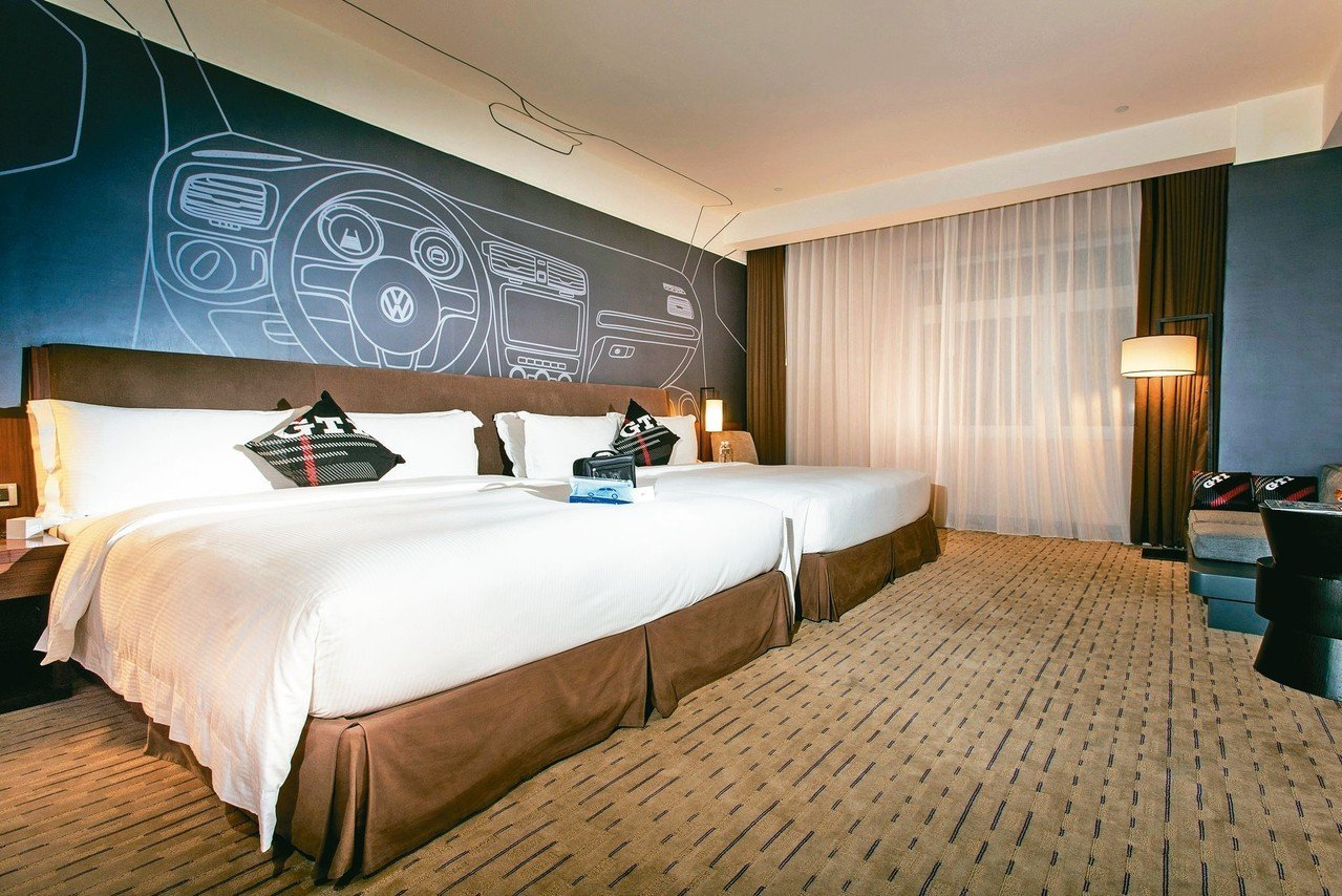 全台首間GTI性能房。 圖/蘭城晶英酒店提供