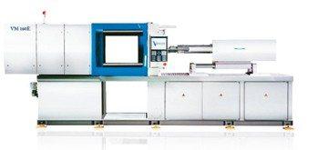 遠景機械產製的160噸臥式塑膠射出成型機。 遠景機械/提供