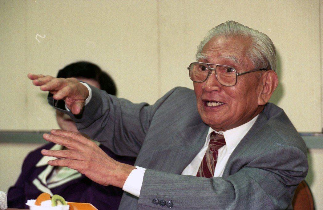曾在蔣經國時期先後出任經濟部長、經建會主委的趙耀東。 圖/聯合報系資料照片