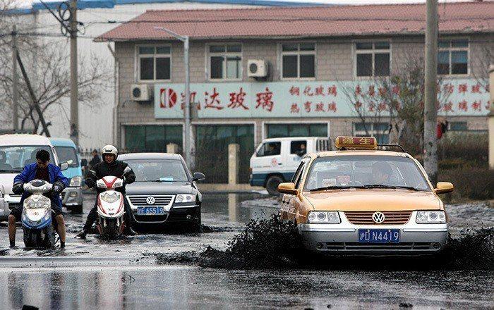 上海市寶山區。 圖片來源/新華社