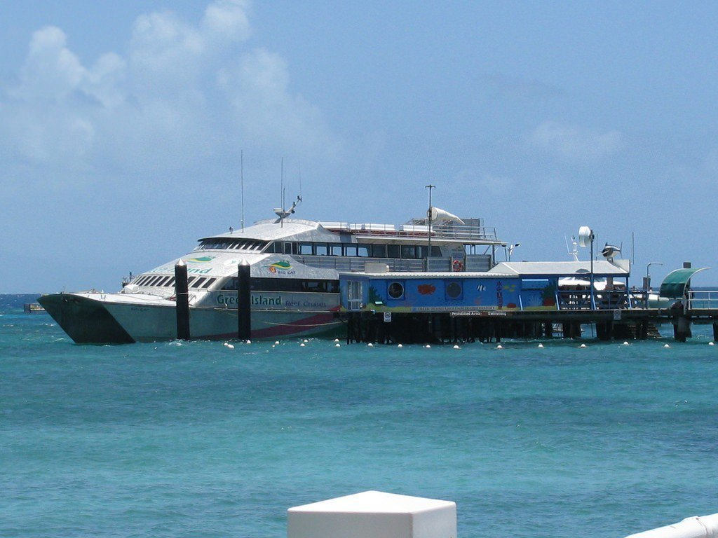 ▲台東-綠島交通船。(圖/攝影者:Sue Waters, Flickr CC L...