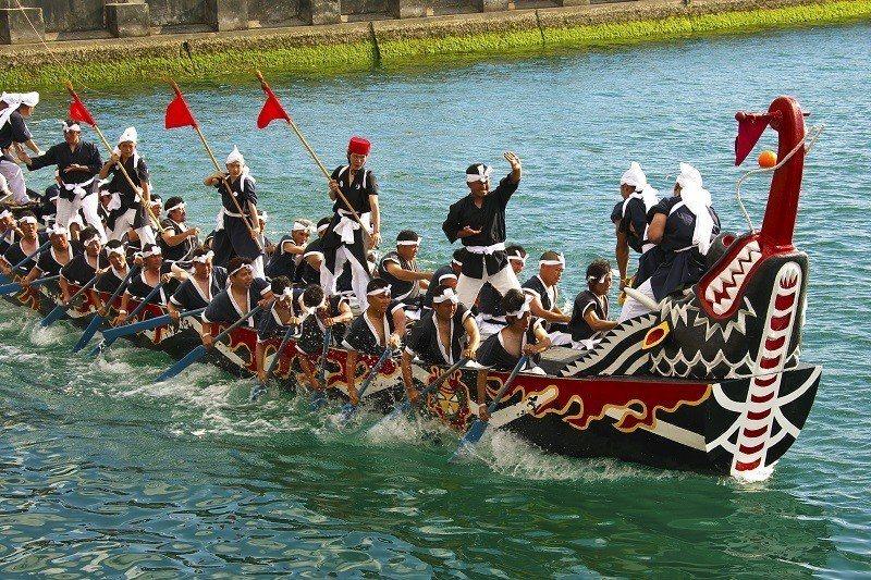 ▲沖繩那霸龍舟祭。(圖/© Okinawa Convention&Visitor...
