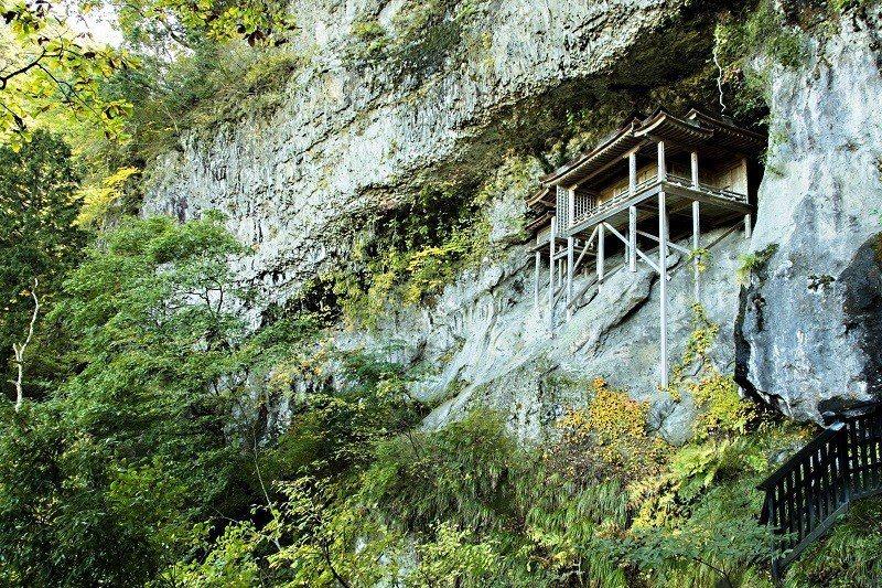 ▲鳥取三佛寺投入堂。(圖/©鳥取県)