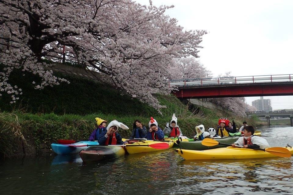 ▲日本鳥取袋川划獨木舟。(圖/Tripbaa趣吧!亞洲自由行專家)