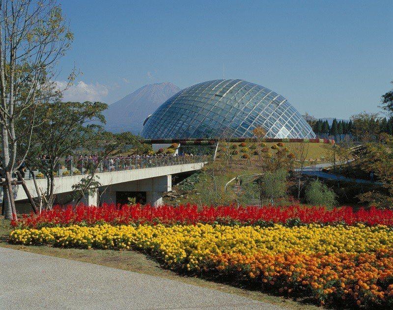 ▲鳥取花迴廊。(圖/©鳥取県)