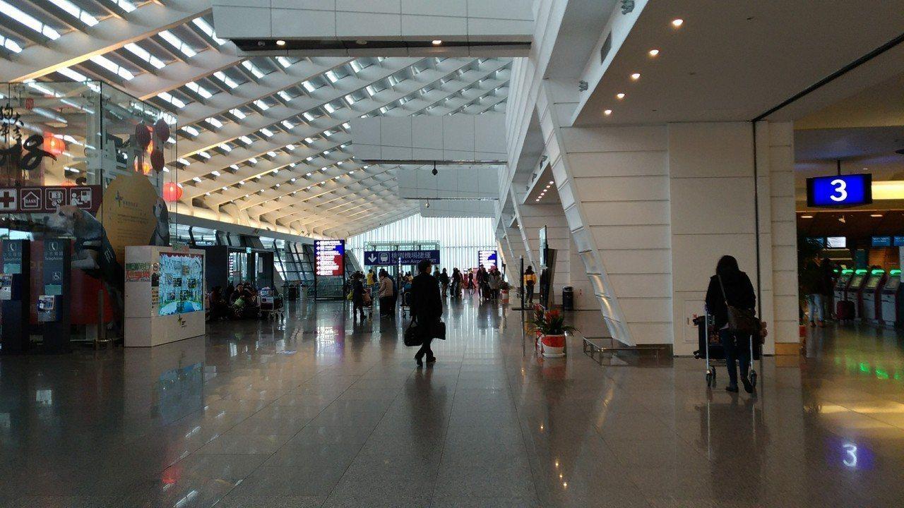 桃園機場。聯合報系資料照