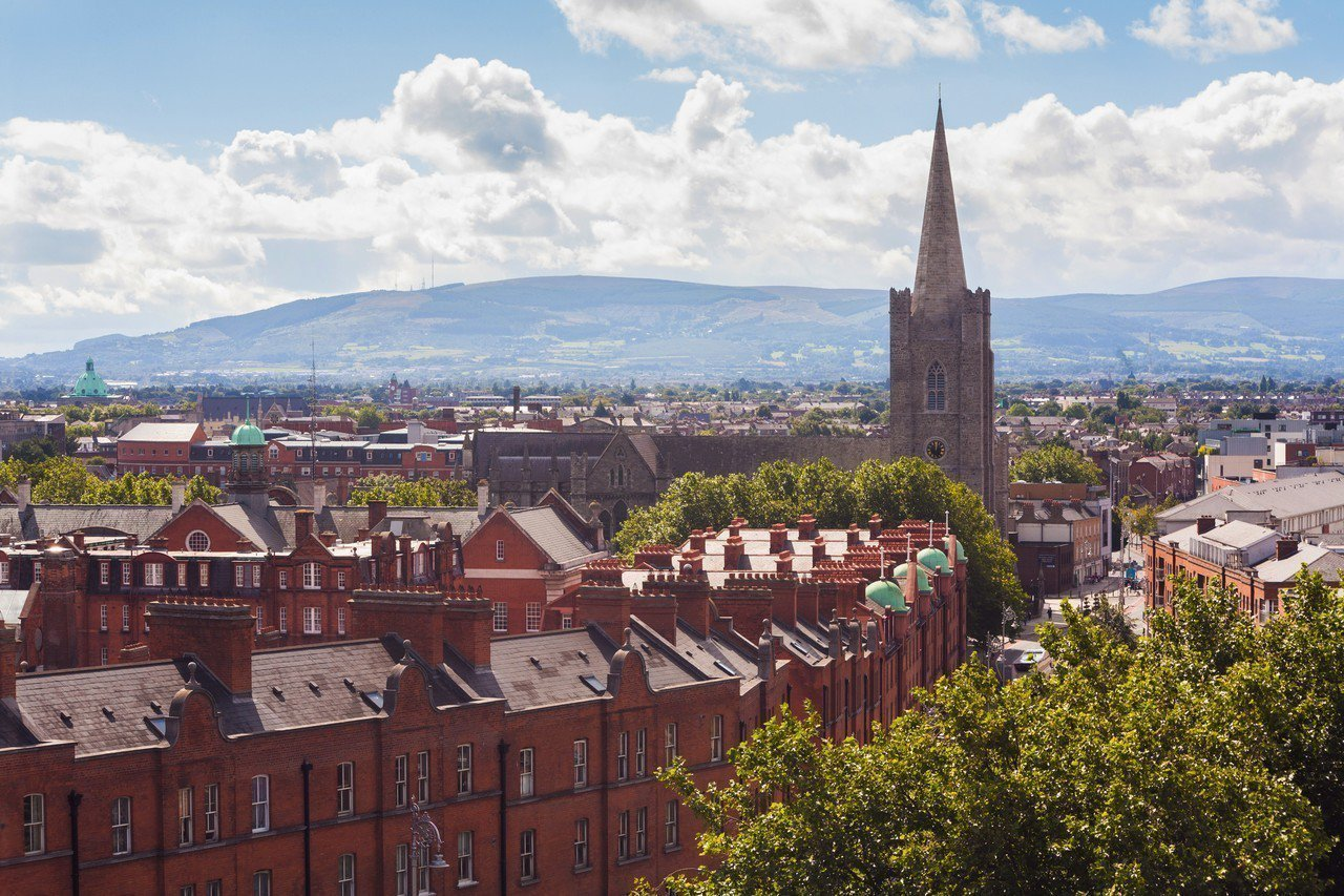 國泰航空精選13個歐洲城市優惠票最低66折,圖為愛爾蘭都柏林。圖/國泰航空提供