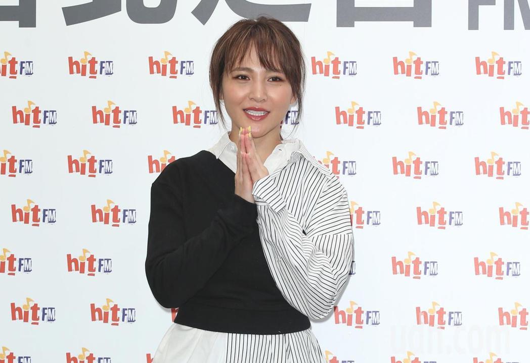 睽違三年,梁文音帶來新專輯現身,記者陳正興/攝影