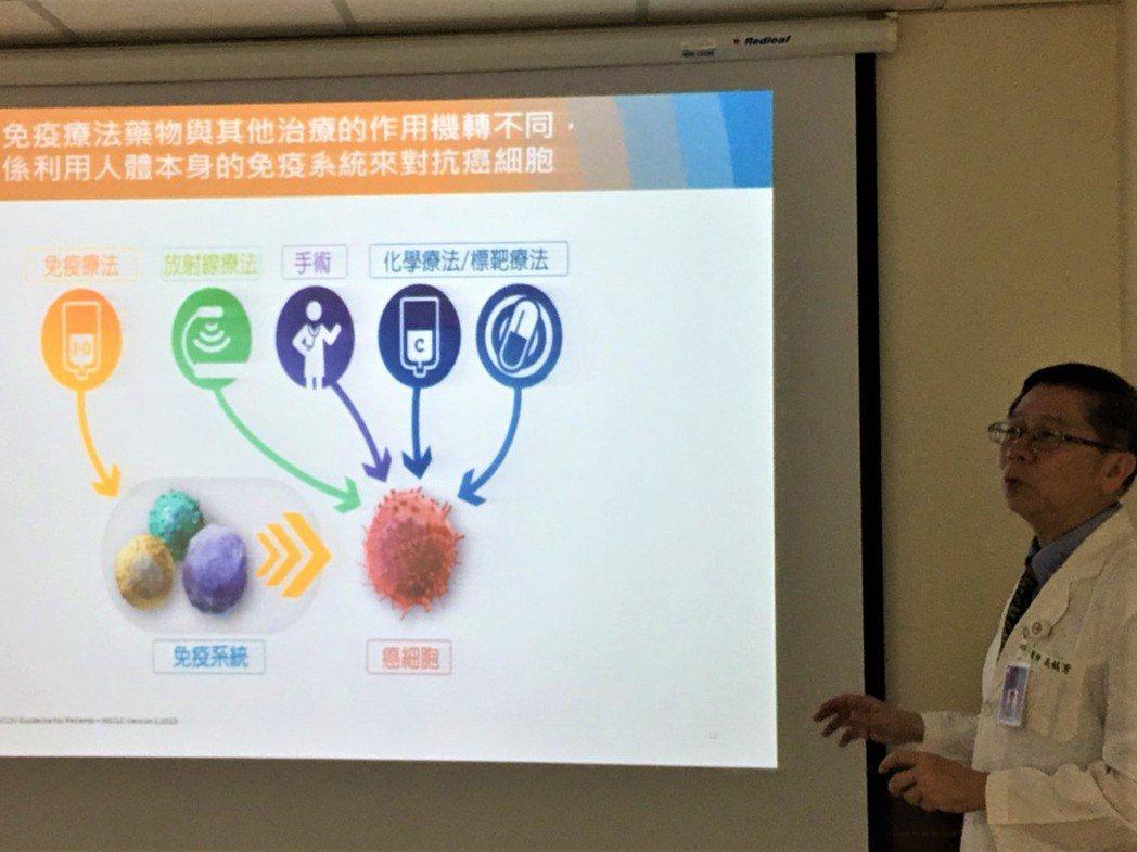 中山醫學大學附設醫院腫瘤內科主任吳銘芳指出,免疫療法替治療癌症打開了另一扇窗,而...