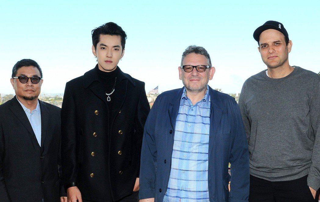 吳亦凡宣布簽約環球。圖/環球音樂提供