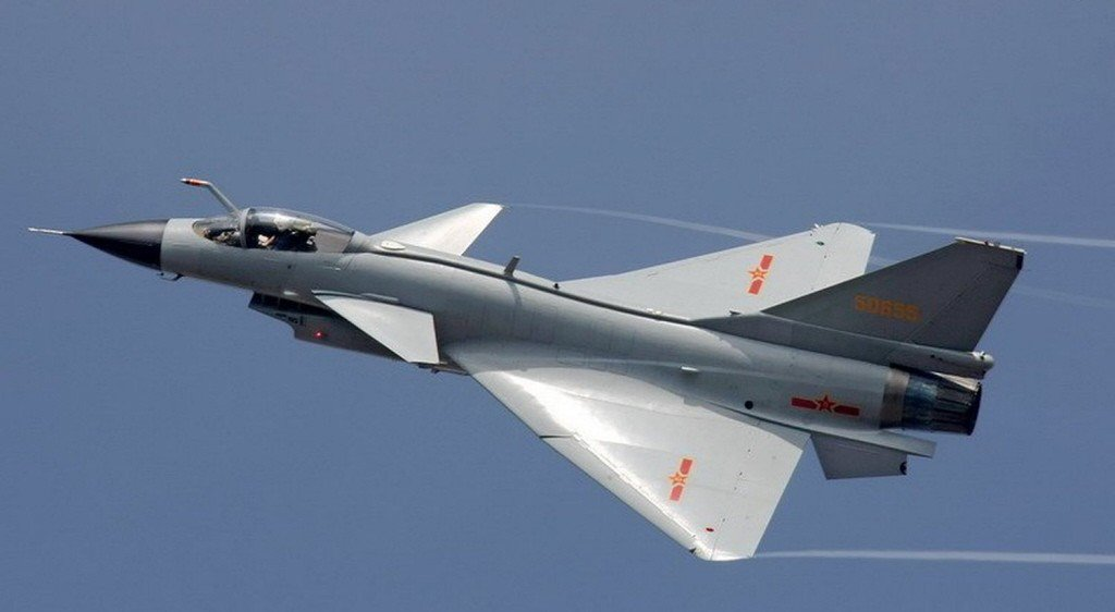 圖為中國第四代戰機殲20。(取材自鳳凰網)