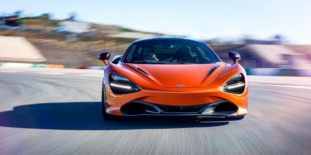 McLaren 720S擁有兼具動感及優雅的外型設計。 圖/McLaren提供