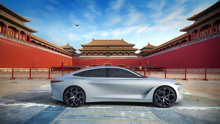Infiniti 視中國為未來主要市場。 摘自Infiniti