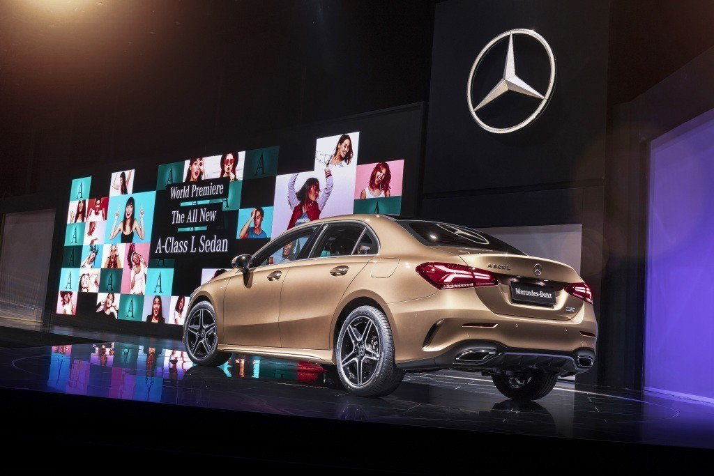 圖為Mercedes-Benz A-Class L Sedan。 摘自Mercedes-Benz