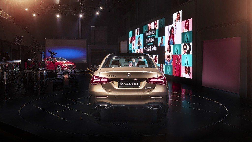 圖為Mercedes-Benz A-Class L Sedan。 摘自Merce...