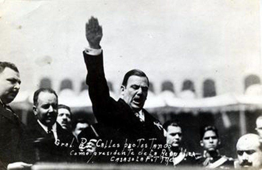 「我們認為,工人和農民階層是墨西哥社會最重要的元素。」卡列斯透過工黨和CROM號...